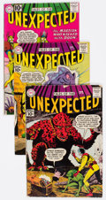 Silver Age (1956-1969):Horror, Tales of the Unexpected Group of 10 (DC, 1961-66) Condition:Average VG.... (Total: 10 Comic Books)