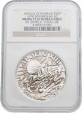Explorers:Space Exploration, Apollo 13 Unflown PF65 Ultra Cameo NGC Silver Franklin Mint Medal,Serial Number 0120, Directly from the Personal Collection o...