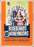 "Movie Posters:Mystery, Bluebeard's Ten Honeymoons (Allied Artists, 1960). Poster (30"" X40""). Mystery.. ..."