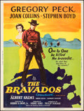"Movie Posters:Western, The Bravados & Others Lot (20th Century Fox, 1958). Posters (7) (30"" X 40""). Western.. ... (Total: 7 Items)"