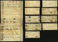 Obsoletes By State:Louisiana, LA - Lot of 14 State of Louisiana, Shreveport March 1, 1864 Notes. . ... (Total: 14 notes)