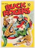 Golden Age (1938-1955):Science Fiction, Buck Rogers #5 (Eastern Color, 1943) Condition: VG/FN....