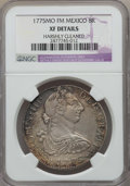 Mexico, Mexico: Charles III 8 Reales 1775 Mo-FM XF Details (HarshlyCleaned) NGC,...