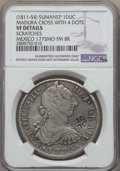 Netherlands East Indies, Netherlands East Indies: Sumanep Counterstamped Ducaton ND(1811-54) VF Details (Scratches) NGC,...