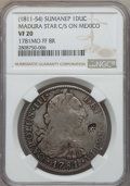 Netherlands East Indies, Netherlands East Indies: Sumenep Counterstamped Ducaton ND(1811-54) VF20 NGC,...