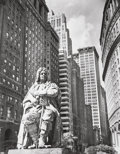Photographs, Berenice Abbott (American, 1898-1991). Depeyster Statue, Bowling Green, July 23, 1936. Gelatin silver, printed 1950s to ...