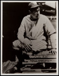 Baseball Collectibles:Others, 1930's Babe Ruth Postcard. ...