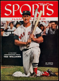 Baseball Collectibles:Publications, 1955 Ted Williams Sports Illustrated - August 1, 1955. ...