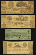 Obsoletes By State:Maryland, MD- Lot of 4 Scarcer Baltimore Hard Times Era Scrip. . ... (Total: 4 notes)