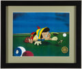 Miscellaneous Collectibles:General, Walt Disney Cartoon Cel Serigraphs Lot of 3 - Peter Pan, Pinocchioand Snow White. ...