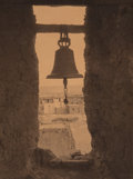 Photographs:Platinum, Edward Sheriff Curtis (American, 1868-1952). The Bell Tower of Acoma, 1904. Platinum. 8 x 6 inches (20.3 x 15.2 cm). Tit...