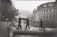 Marc Riboud (French, 1923-2016) Karlovy Vary, 1963 Gelatin silver, printed later 7-3/4 x 11-3/4 i