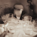 Prints & Multiples, David Halliday (American, b. 1958). Still Life with Glasses, 1994. Sepia-toned gelatin silver. 12-3/8 x 12-3/8 inches (3...
