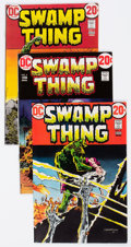Bronze Age (1970-1979):Horror, Swamp Thing Group #3-5 (DC, 1973) Condition: Average FN/VF....(Total: 5 Comic Books)