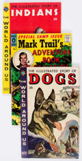 Silver Age (1956-1969):Classics Illustrated, World Around Us/Mark Trail Group of 36 (Gilberton, 1950s)Condition: Average FN.... (Total: 36 Comic Books)