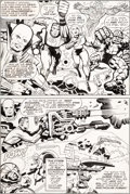 Original Comic Art:Panel Pages, Jack Kirby, Mike Royer, and Bill Wray What If? #11 StoryPage 18 Fantastic Four Original Art (Marvel, 1978)....
