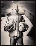 Photographs:Gelatin Silver, Michael Garlington (American, 20th Century). Chelsea DairyQueen, New Mexico, Tin Man on Pig Planet, and TheHead ... (Total: 3 Items)