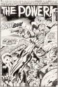 Original Comic Art:Splash Pages, Jack Kirby and Mike Royer Forever People #8 Splash Page 2Original Art (DC, 1972)....