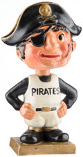 Baseball Collectibles:Others, 1960-62 Pittsburgh Pirates Color Base Nodder. ...