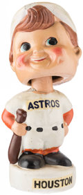 Baseball Collectibles:Others, 1961-63 Houston Astros White Base Mini Nodder. ...