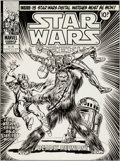 Original Comic Art:Covers, Tom Palmer Star Wars Weekly #26 Cover Original Art (Marvel UK, 1978)....