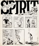 Will Eisner The Spirit Weekly Newspaper Section Sunday Complete 7-Page Story Original Art dated 10-3-48 (Register ... (T...