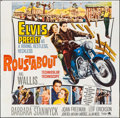 "Movie Posters:Elvis Presley, Roustabout (Paramount, 1964). Six Sheet (79"" X 80""). ElvisPresley.. ..."