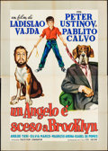 """Movie Posters:Foreign, The Man Who Wagged His Tail & Other Lot (CEI-INCOM, 1957). Italian 4 - Fogli (52.5"""" X 73.75"""") & First Post-War Release Itali... (Total: 2 Items)"""