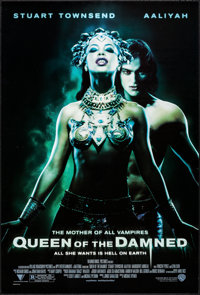 """Queen of the Damned & Others Lot (Warner Brothers, 2002). One Sheets (4) (27"""" X 40""""). DS. Horror. ... (Tot..."""