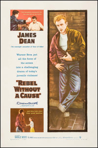 "Rebel without a Cause (Warner Brothers, 1955). One Sheet (27"" X 41""). Drama"