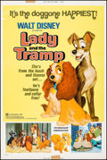 """Movie Posters:Animation, Lady and the Tramp & Other Lot (Buena Vista, R-1972). Posters(2) (40"""" X 60""""). Animation.. ... (Total: 2 Items)"""