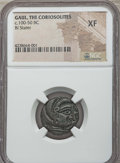 Ancients:Celtic, Ancients: NORTHERN GAUL. Coriosolites. Ca. 100-50 BC. BI stater.NGC XF....