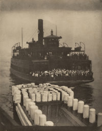 Alfred Stieglitz (American, 1864-1946) Group of Five Photogravures from Camera Work four of the prin