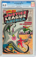 Silver Age (1956-1969):Superhero, The Brave and the Bold #28 Justice League of America (DC, 1960) CGCVG 4.0 Cream to off-white pages....