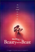 """Movie Posters:Animation, Beauty and the Beast (Buena Vista, 1991). One Sheet (27"""" X 40"""") DS Advance. Animation.. ..."""