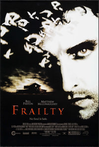 "Frailty (Lions Gate, 2002). One Sheets (6) Identical (27"" X 40"") DS. Crime. ... (Total: 6 Items)"