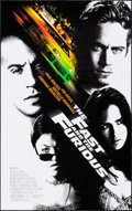 "Movie Posters:Action, The Fast and the Furious & Others Lot (Universal, 2001). OneSheets (4) (27"" X 40"") DS. Action.. ... (Total: 4 Items)"