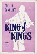 "Movie Posters:Historical Drama, King of Kings (Cinema Corporation of America, R-1950s). One Sheet(28"" X 41""). Historical Drama.. ..."