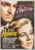 """Movie Posters:Hitchcock, Rebecca & Other Lot (SM Films, R-1982). One Sheets (2) (27"""" X41""""). Hitchcock.. ... (Total: 2 Items)"""