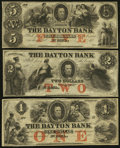Obsoletes By State:Minnesota, MN- Lot of 3 Dayton Bank, St. Paul Remainder Notes. . ... (Total: 3notes)