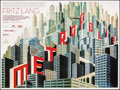 "Movie Posters:Science Fiction, Metropolis (Eureka, R-2010). British Quad (30"" X 40""). DS. ScienceFiction.. ..."