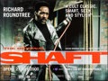 "Movie Posters:Blaxploitation, Shaft (BFI, R-2000). British Quad (30"" X 40""). Blaxploitation.. ..."