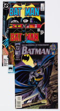 Modern Age (1980-Present):Superhero, Batman-Related Box Lot (DC, 1986-2001) Condition: Average NM-....