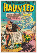 Golden Age (1938-1955):Horror, This Magazine Is Haunted #8 (Fawcett Publications, 1952) Condition:FN+....