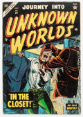 Golden Age (1938-1955):Horror, Journey Into Unknown Worlds #29 (Atlas, 1954) Condition: VG/FN....