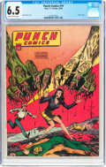 Golden Age (1938-1955):Superhero, Punch Comics #19 (Chesler, 1946) CGC FN+ 6.5 Slightly brittle pages....