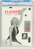 Magazines:Miscellaneous, Playboy #1 (HMH Publishing, 1953) CGC VF+ 8.5 White pages....