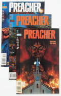 Modern Age (1980-Present):Horror, Preacher #1-3 Group (DC, 1995).... (Total: 3 Comic Books)