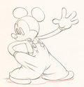 Animation Art:Production Drawing, Mickey's Elephant Mickey Mouse and Bobo the ElephantAnimation Drawing Group of 2 (Walt Disney, 1936).. ...