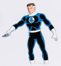 Animation Art:Production Cel, The Fantastic Four Reed Richards and Gorgon Production Cel& Animation Drawing Group (Marvel Films, 1995).... (Total: 4 )